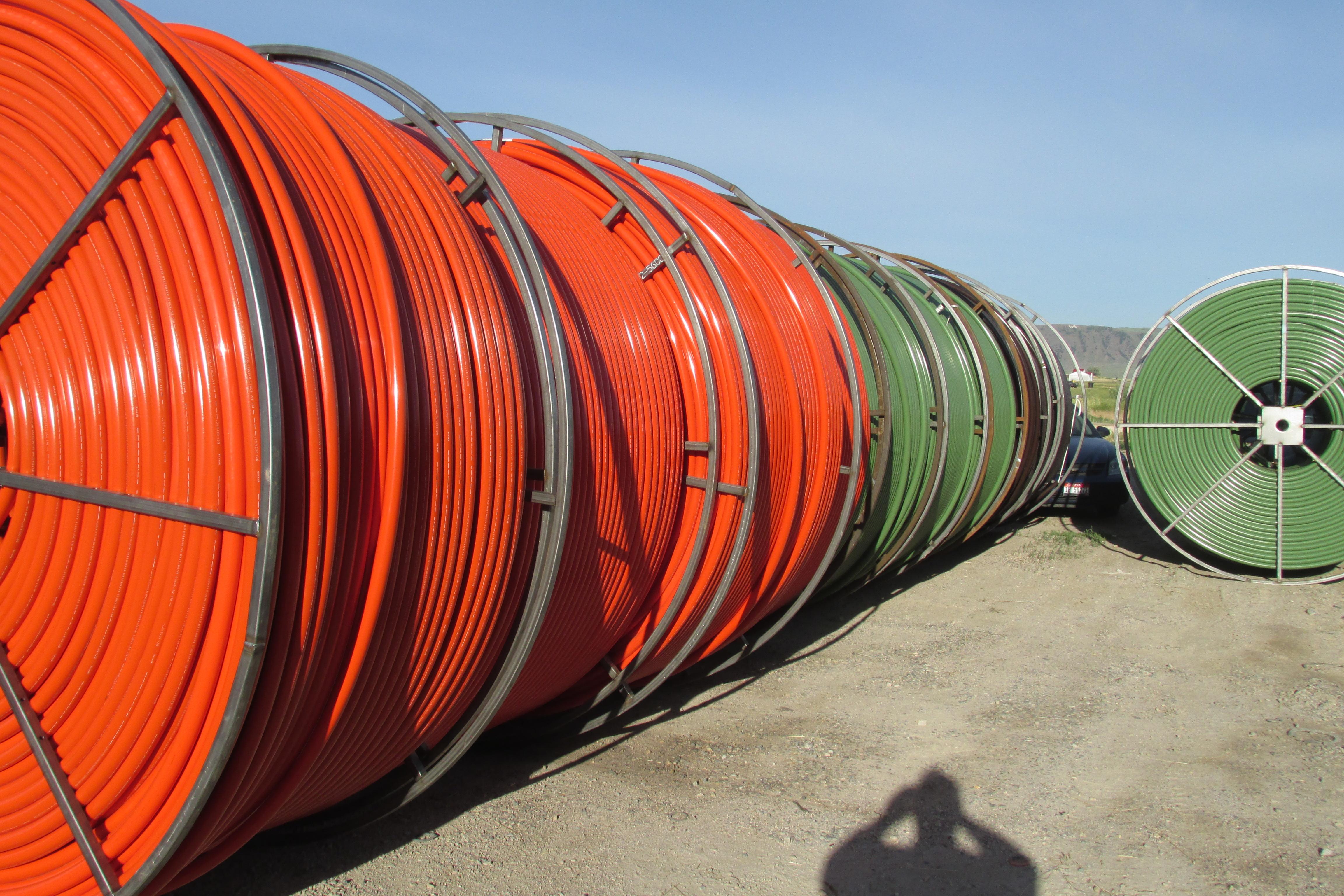 HDPE - Orange HDPE pIpe - PI (4)